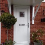 White UPVC Panel Door