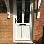 White Ash Sophia Vintage Door