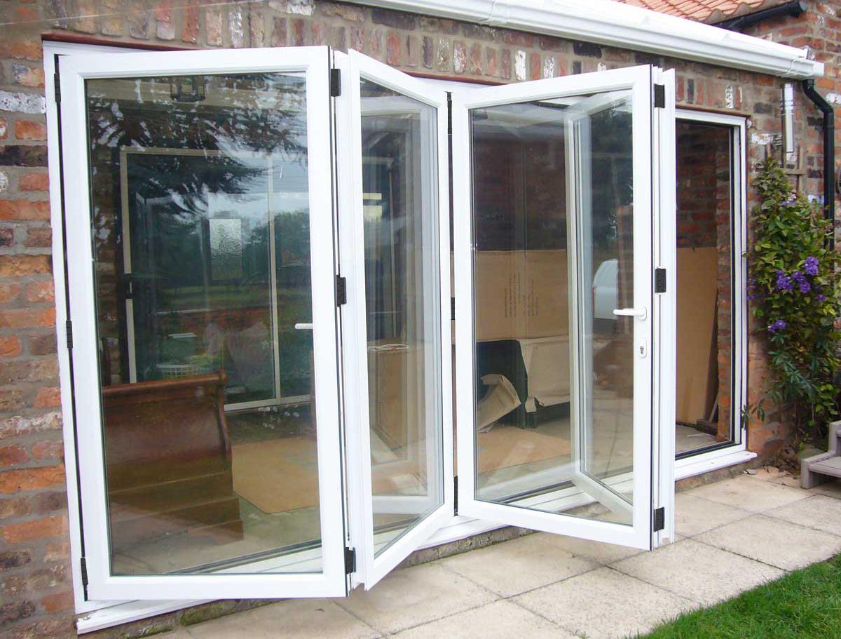 Folding Doors Product : Bi folding doors mee glazed products ltd