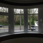 Inside of a Bay window