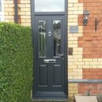 Anthracite Grey Etna Composite Door