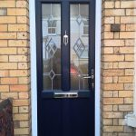 Navy Blue Sophia Vintage UPVC Door