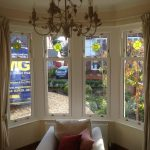 Internal Photo of White Ash UPVC Windows